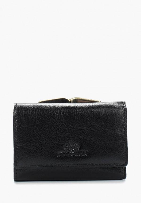 женский кошелёк wittchen, черный