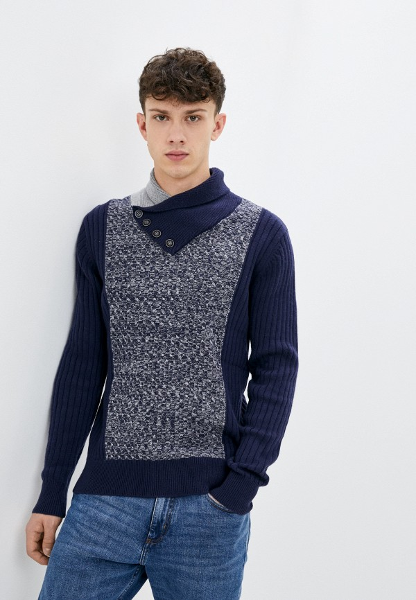 мужской пуловер william de faye, синий