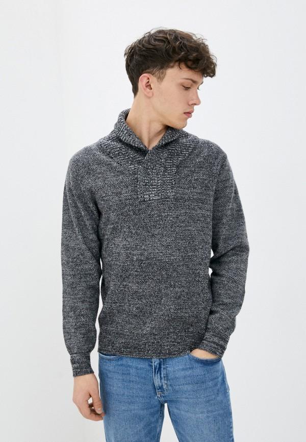 мужской свитер william de faye, серый
