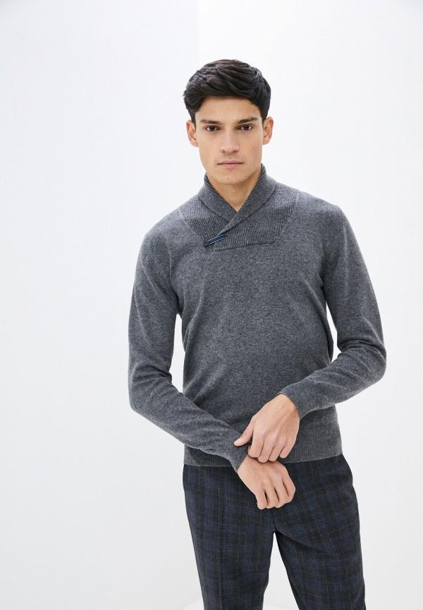 мужской пуловер william de faye, серый
