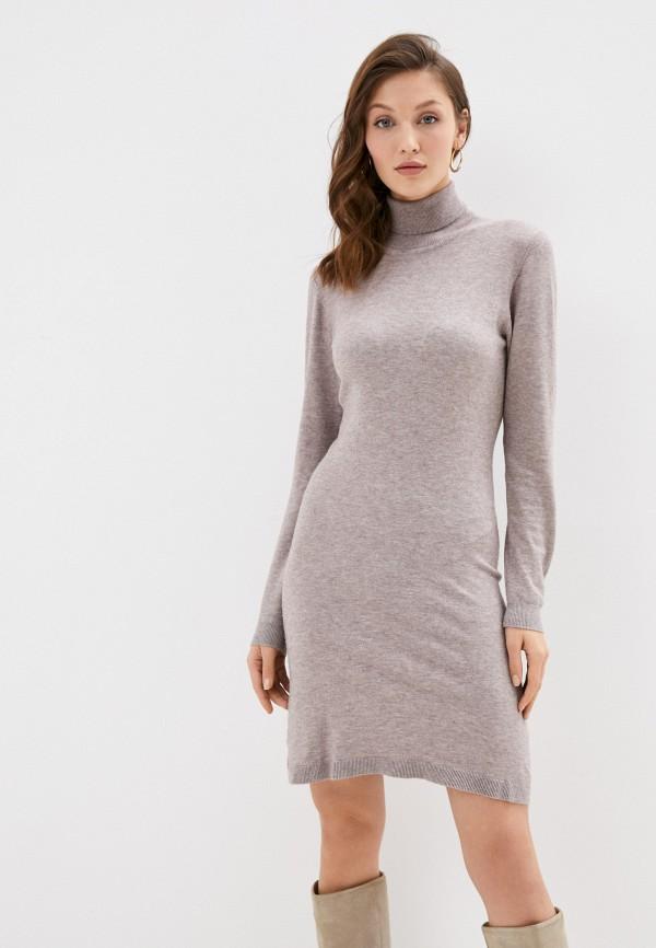 женское платье william de faye, бежевое