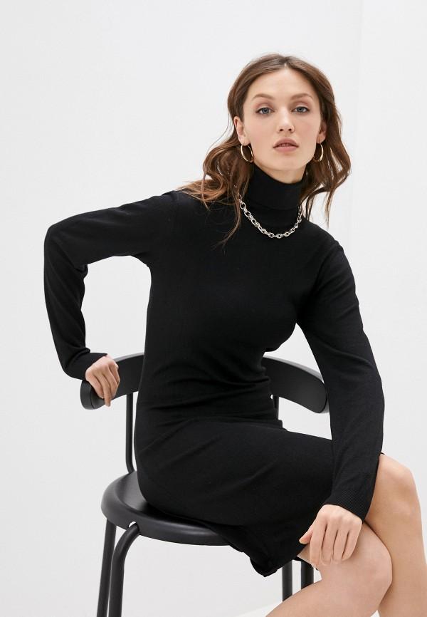 женское платье william de faye, черное