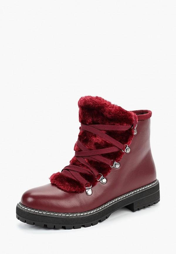 женские ботинки wilmar, бордовые
