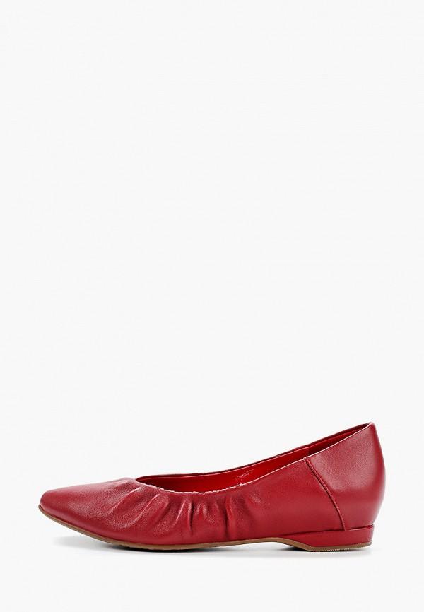 женские туфли wilmar, красные