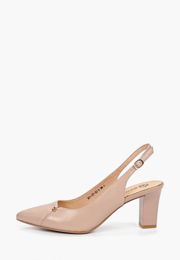 женские туфли wilmar, розовые