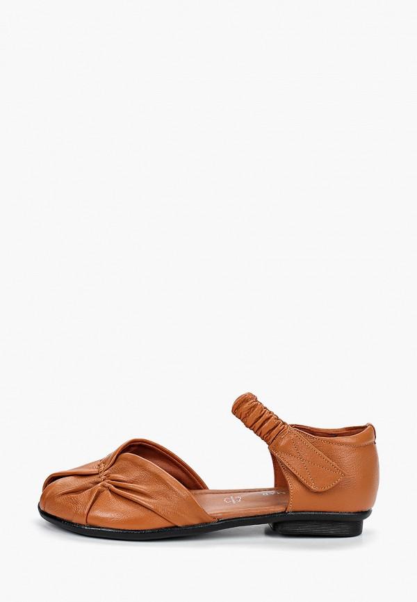 женские сандалии wilmar, коричневые