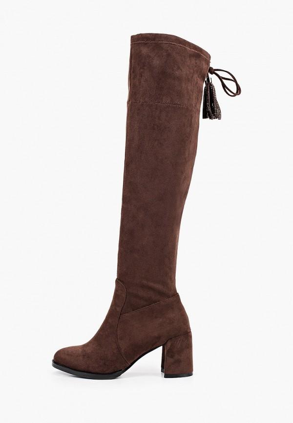 женские ботфорты wilmar, коричневые