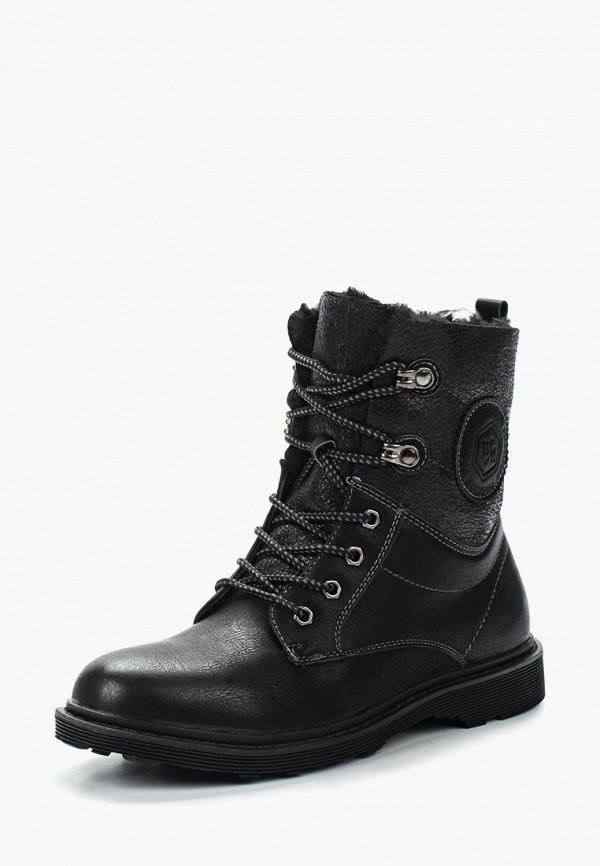 Фото 11 - женские ботинки и полуботинки Wilmar черного цвета