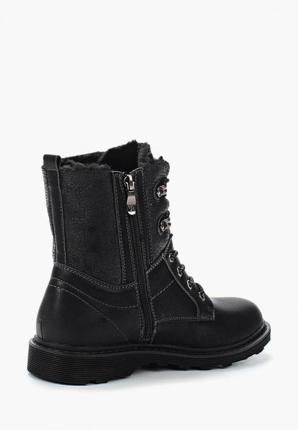 Фото 12 - женские ботинки и полуботинки Wilmar черного цвета