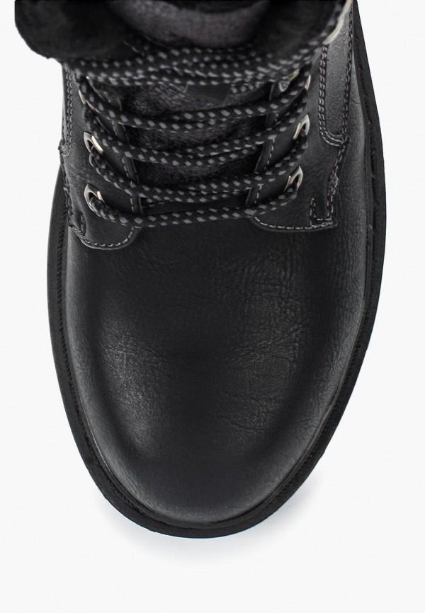 Фото 14 - женские ботинки и полуботинки Wilmar черного цвета