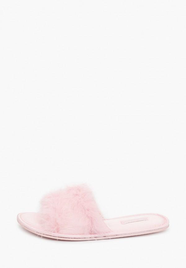 женские тапочки women'secret, розовые