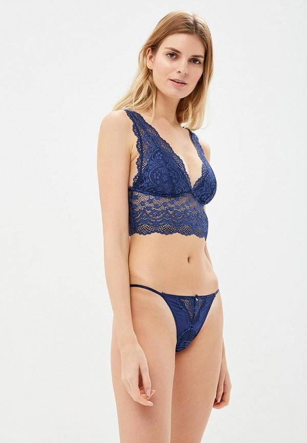 женские трусы women'secret, синие