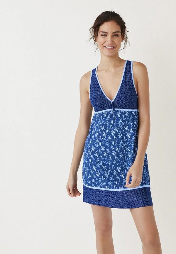 женские сорочка ночная women'secret, синие