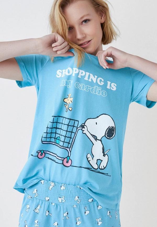 Купить Пижама women'secret, wo004eweaqh7, голубой, Весна-лето 2019