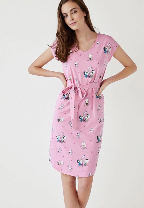 Платье домашнее women'secret women'secret WO004EWEAQI3 verdissima домашнее платье с розами