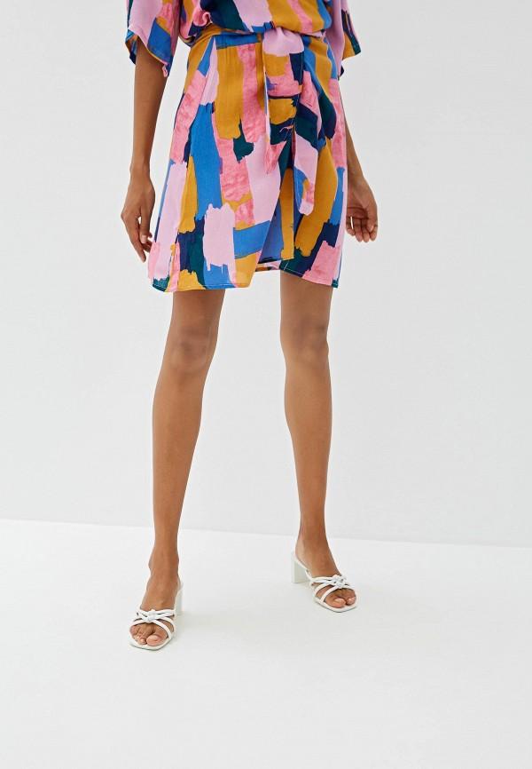 женская юбка women'secret, разноцветная
