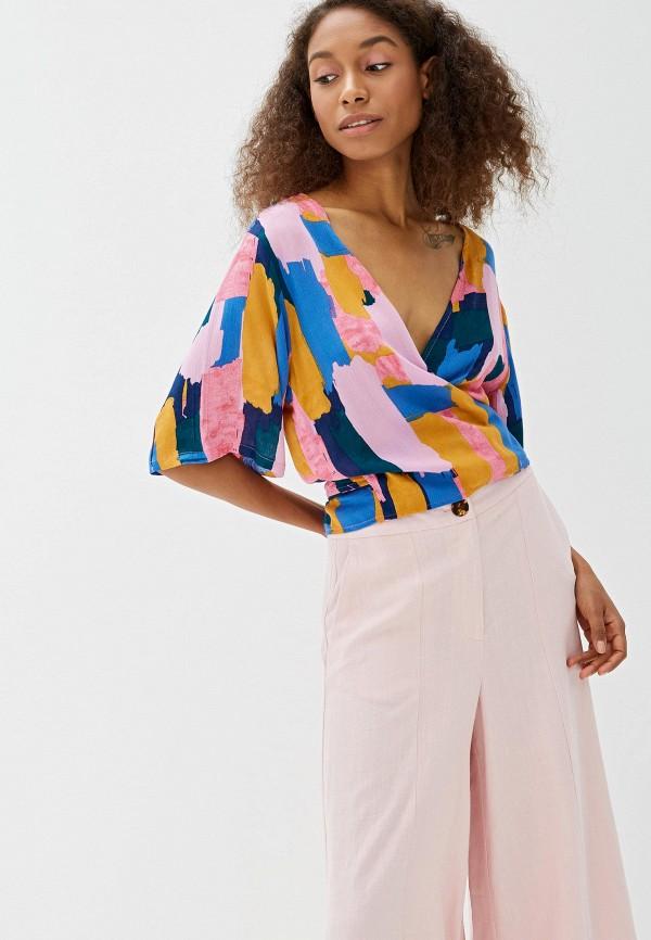 женская блузка women'secret, разноцветная