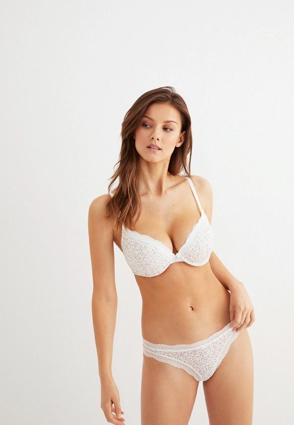 женские трусы-слипы women'secret, белые