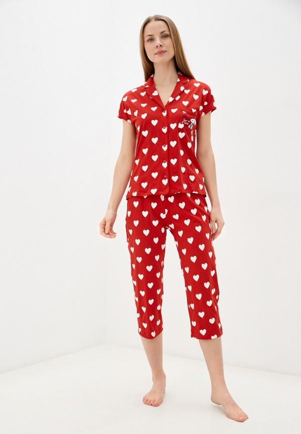 женская пижама women'secret, красная