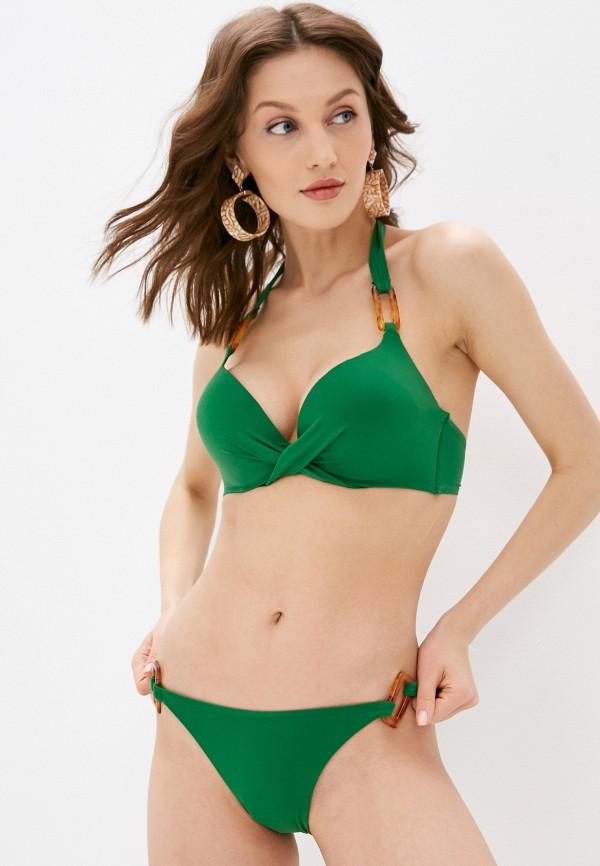 женские плавки women'secret, зеленые