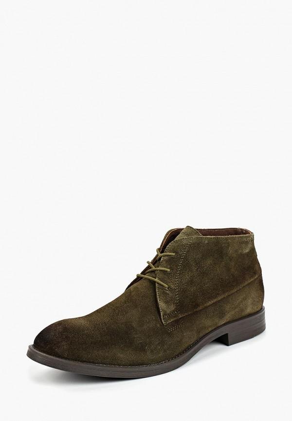 мужские ботинки wojas, зеленые