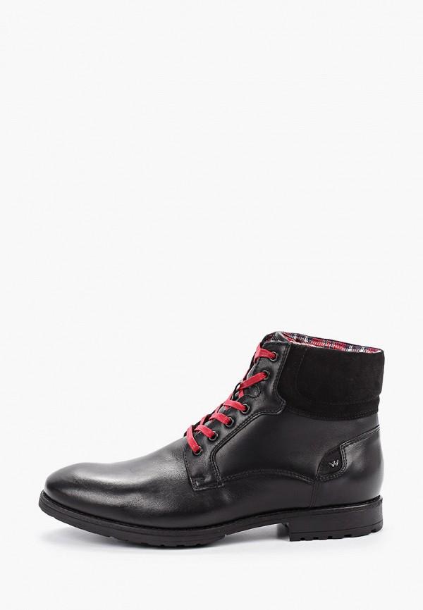 мужские ботинки wojas, черные