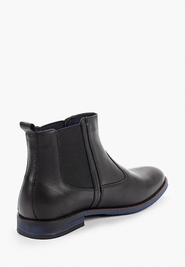 Фото 3 - Ботинки Wojas черного цвета