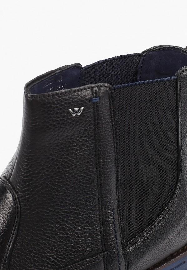 Фото 6 - Ботинки Wojas черного цвета