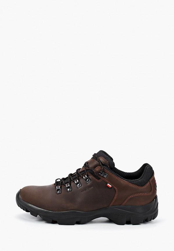 мужские ботинки wojas, коричневые