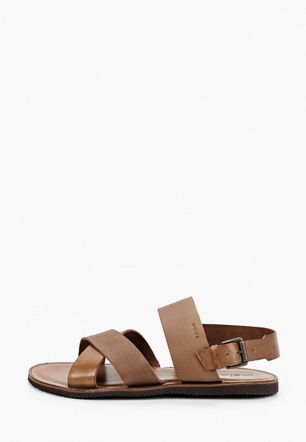мужские сандалии wojas, коричневые