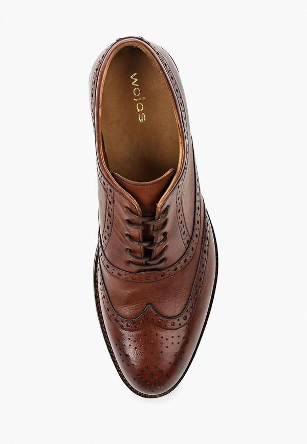 Фото 14 - мужские туфли Wojas коричневого цвета