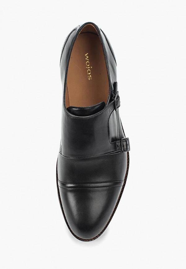 Фото 14 - мужские туфли Wojas черного цвета