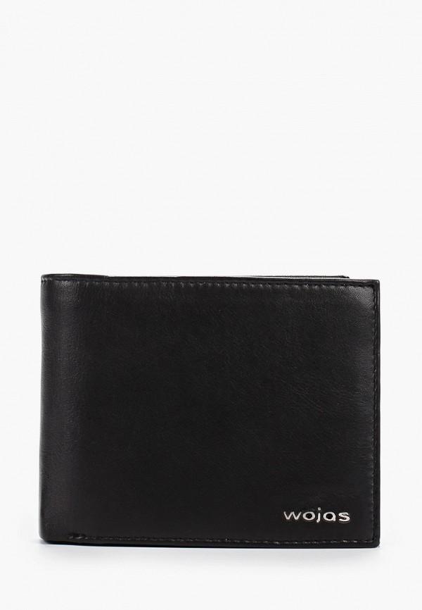 мужской кошелёк wojas, черный