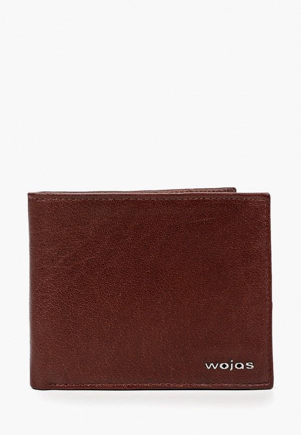 мужской кошелёк wojas, коричневый