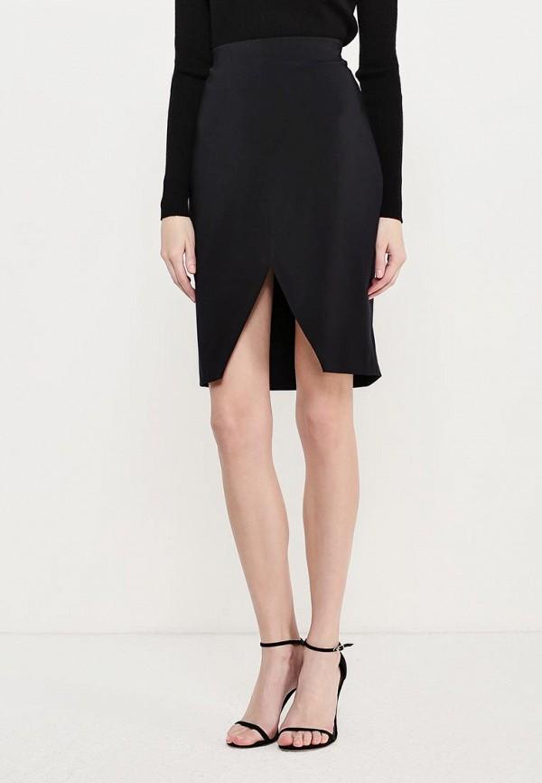 женская юбка мини wolford, черная