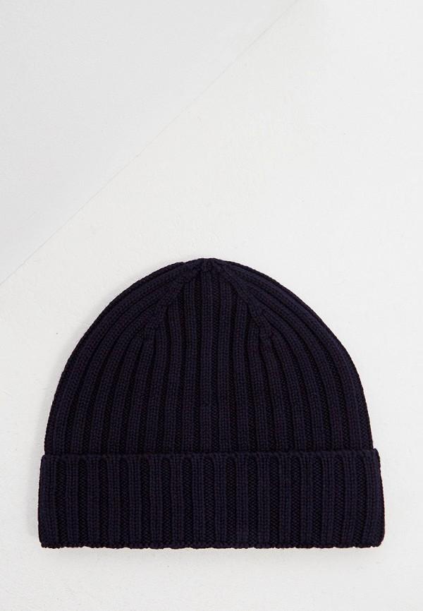 мужская шапка woolrich, синяя