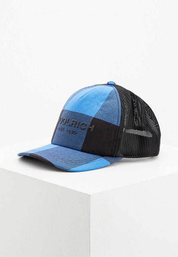 мужская бейсболка woolrich, синяя