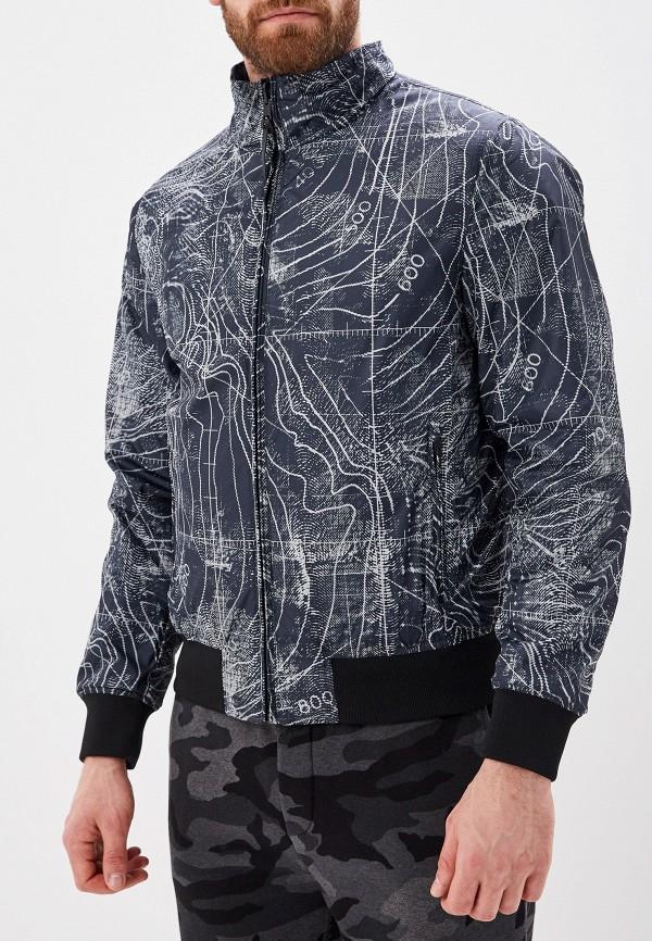 Фото 2 - Куртку Woolrich серого цвета