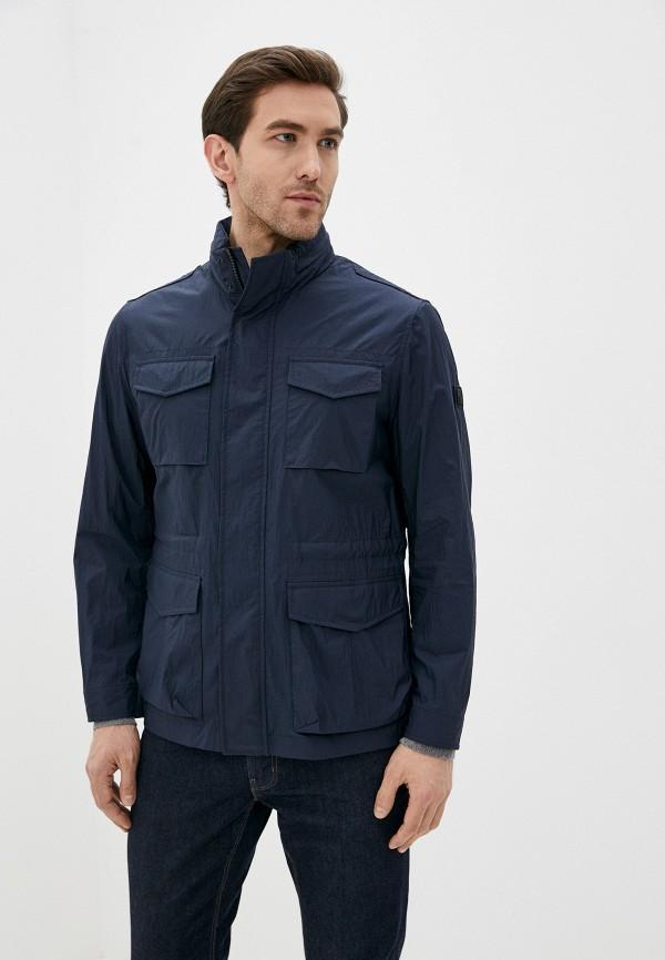 мужская куртка woolrich, синяя