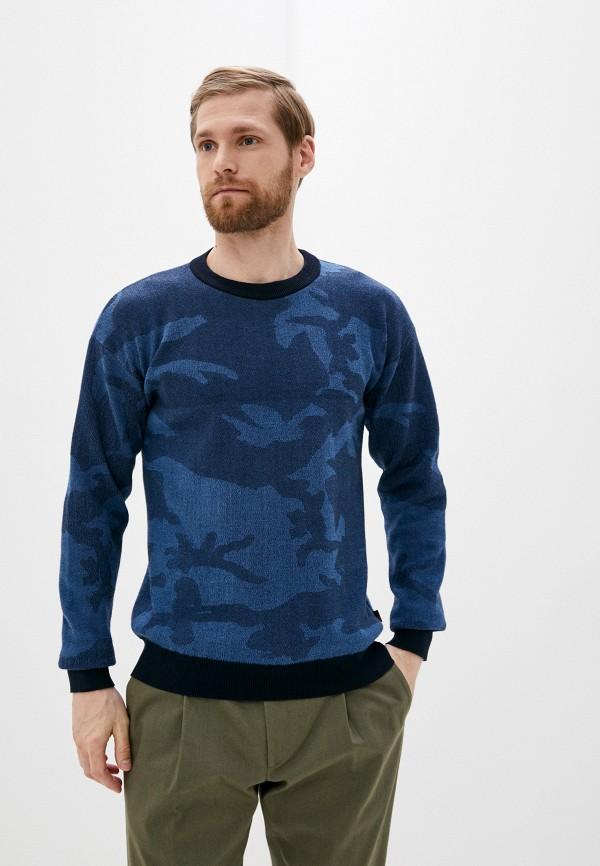 мужской джемпер woolrich, синий