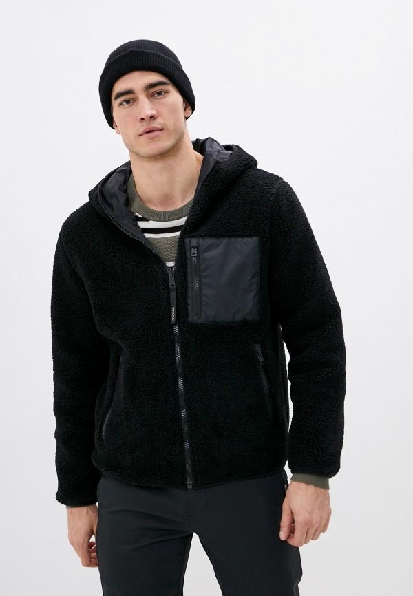 мужская куртка woolrich, черная