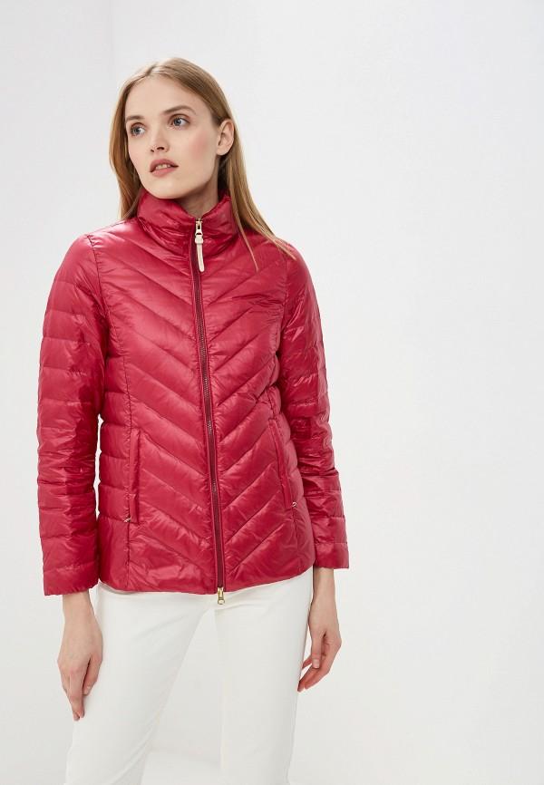 женский пуховик woolrich, розовый