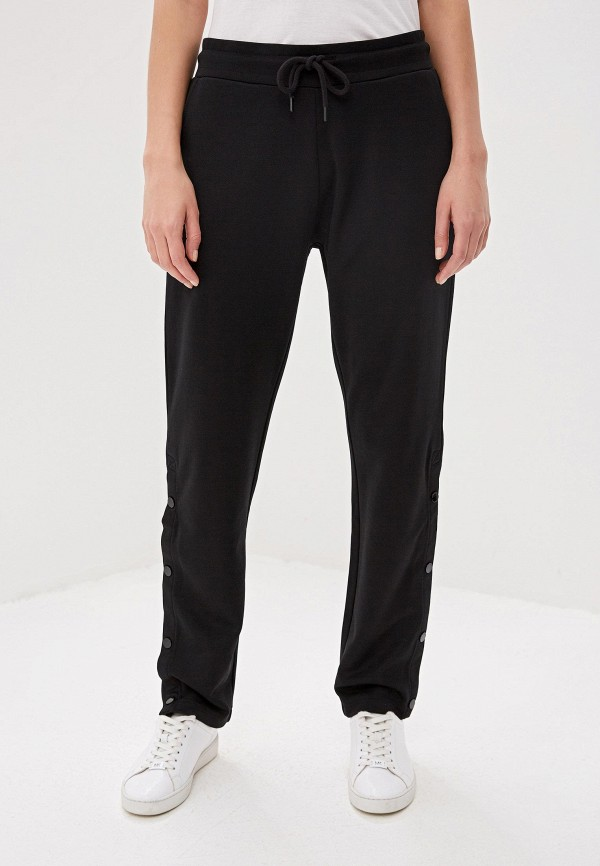 женские спортивные спортивные брюки woolrich, черные