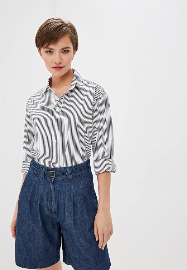 женская рубашка с длинным рукавом woolrich, белая