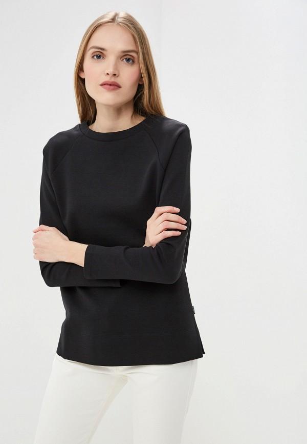 женский свитшот woolrich, черный