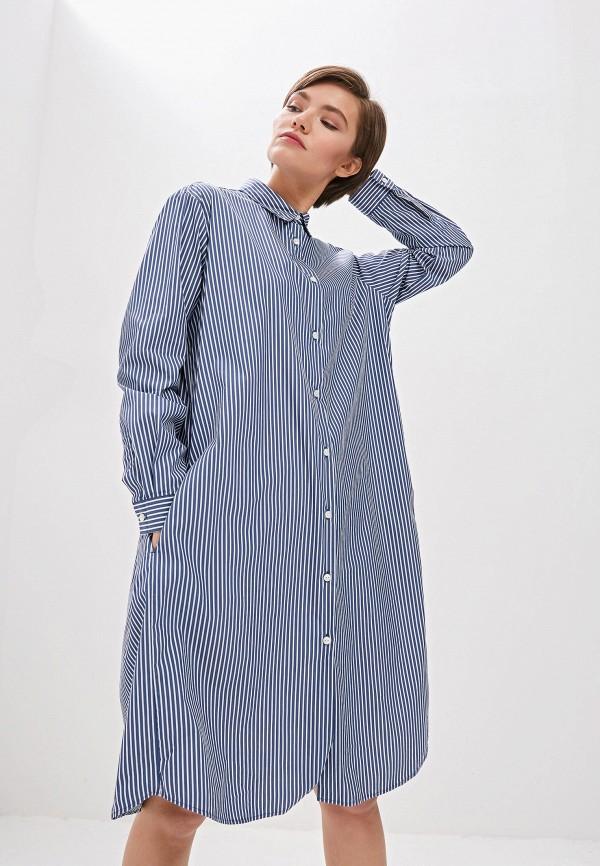женское платье woolrich, голубое