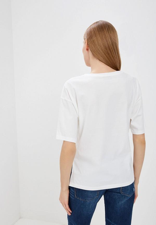 Фото 3 - женскую футболку Woolrich белого цвета