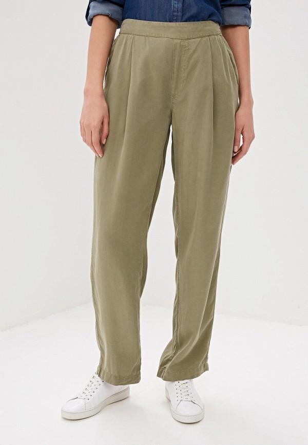 женские повседневные брюки woolrich, хаки