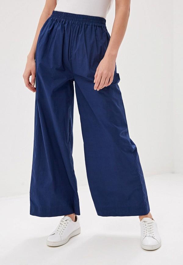 женские повседневные брюки woolrich, синие