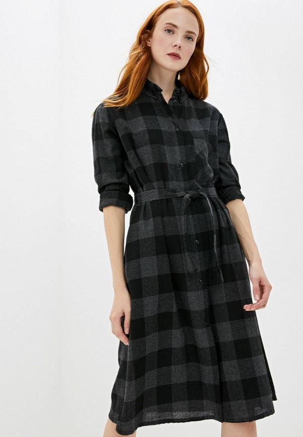 женское платье woolrich, серое